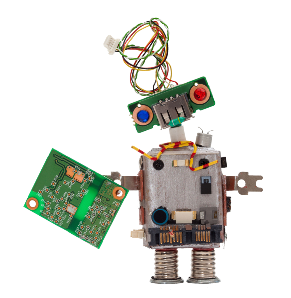 Robot with PCB - Component Kitting